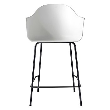 White with Black finish / Counter size