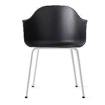 White Steel Legs / Dakar Leather: Black fabric