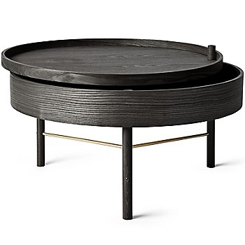 Shown in Black Ash with Brass finish