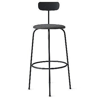 Bar Height / Black with Black Melange Fabric