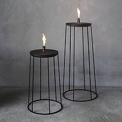 Wire Series Disc Oil Lamp