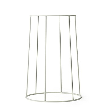 Medium Wire Base/White