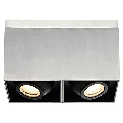 Box 11 Inch LED Square Flush Mount Ceiling Light