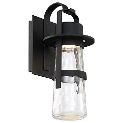 Balthus LED Indoor/Outdoor Wall Sconce(Black/Med) - OPEN BOX