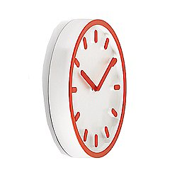 Magis Tempo Wall Clock (Orange) - OPEN BOX RETURN
