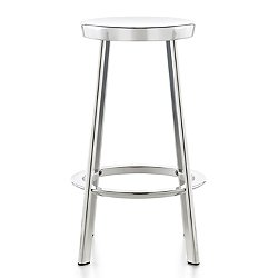 Magis Deja-vu Stool (High Stool/Polished Aluminum) - OPEN BOX RETURN