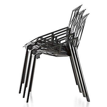 Black Seat / Black Legs / stacked