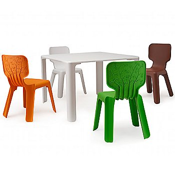 Shown with Alma Stacking Chairs