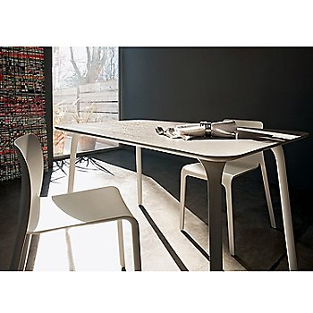 Magis Table First, Rectangular / in use
