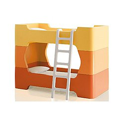 Magis Bunky White Ladder And Pair Of Intermediate Units
