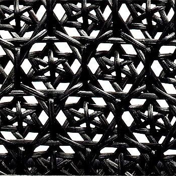 Wicker weave detail view