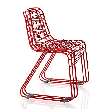 Flux Chair / stacked in Red