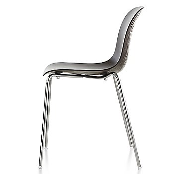 Chrome/Black Stained Beech finish / side view