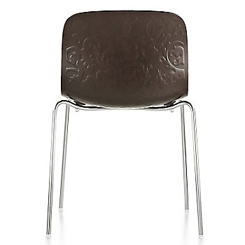 Chrome/Black Stained Beech finish / rear view
