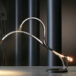 Ra Fiber Optic Table Lamp