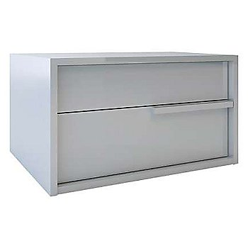 Shown in White Lacquer finish, Right side handle