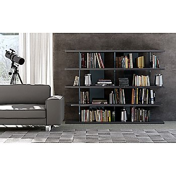 Beekman Bookcase with Renwick Sofa