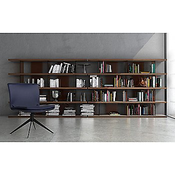 Beekman Bookcase with Duane Desk Chair