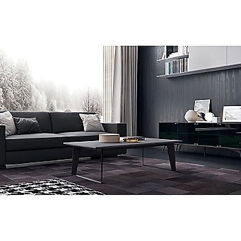 Amsterdam Coffee Table with Christopher Media Cabinet and Renwick Sofa