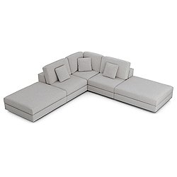 Perry Armless Corner Sofa