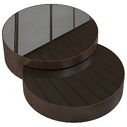 Berkeley Nesting Coffee Tables, Set of 2