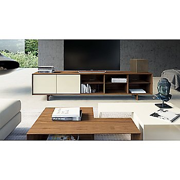 Chiswick Media Cabinet with Putney 2 Piece Coffee Table Set