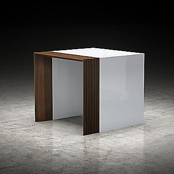 White Lacquer and Walnut finish / in use