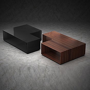 Rosewood and Glossy Black
