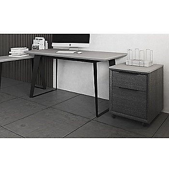 Amsterdam Desk with Amsterdam Console Table