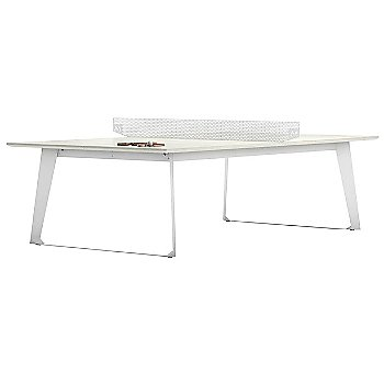 Amsterdam Outdoor Ping Pong Table with Amsterdam Outdoor Bench