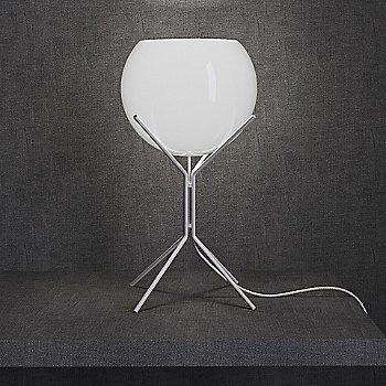 White Glass on White finish