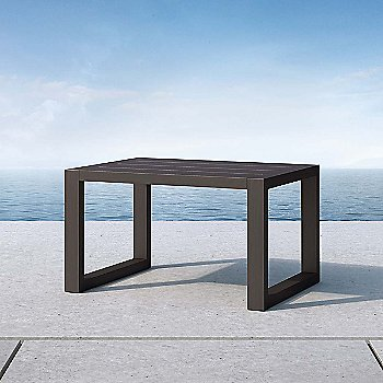 Parson Accent Table, in use