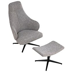 Bradhurst Lounge Chair and Ottoman