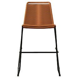 Barclay Counter Stool (Orange) - OPEN BOX RETURN