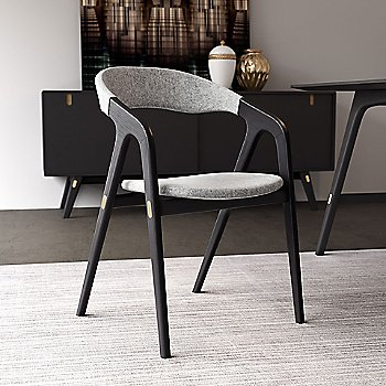 Kaede Chair with Haru Sideboard and Haru Dining