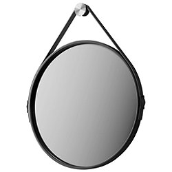 George Mirror by Modloft (Black/24 inch) - OPEN BOX RETURN