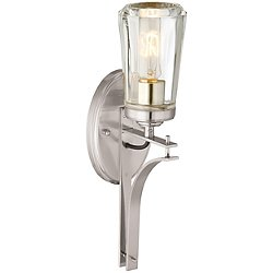 Poleis 1-Light Bath Wall Sconce