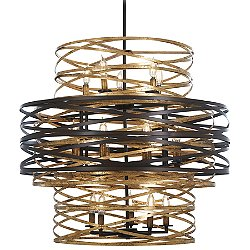 Vortic Flow 18-Light Chandelier
