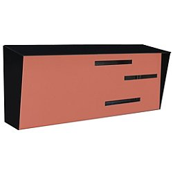 Mid-Century Modern Mailbox - Two-Tone