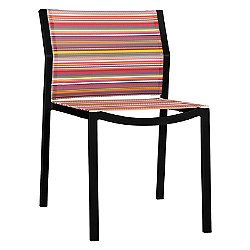 Stripe Stackable Side Chair