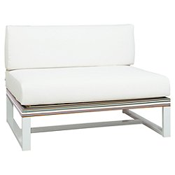 Stripe Sectional Seat