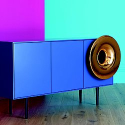 Caruso Cabinet with Bluetooth Speaker and LED