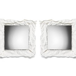 Wow Mirror, Square - 20-In, Set of 2