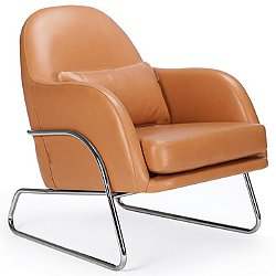 Jackie Leather Lounge Chair