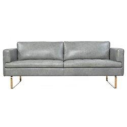 Frensen Leather Sofa