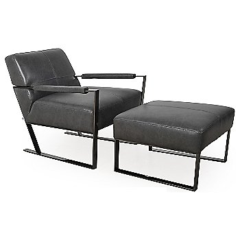 Charcoal / Gun Metal with chair (not included)