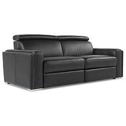 Ellie Leather Motion Sofa - OPEN BOX RETURN