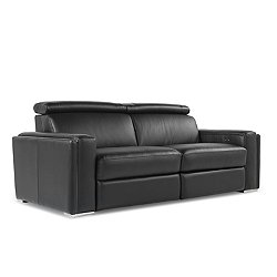 Ellie Leather Motion Loveseat