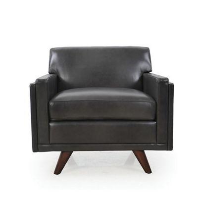 Sensational Moroni Sleigh Leather Armchair Yliving Com Spiritservingveterans Wood Chair Design Ideas Spiritservingveteransorg