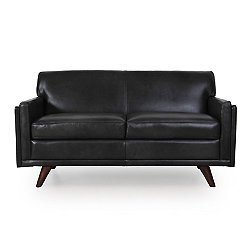 Milo Leather Loveseat